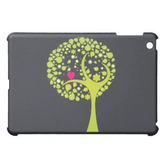 Whimsical Tree iPad Case