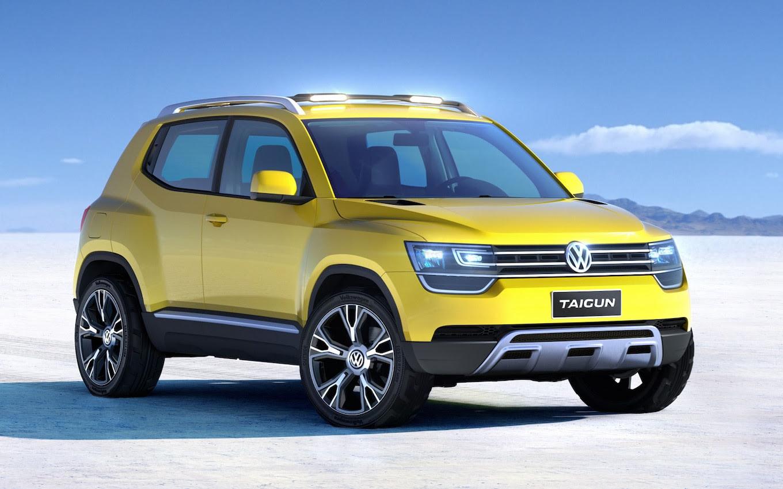 Shrunken SUV: Volkswagen Taigun Concept Crossover Debuting in Brazil