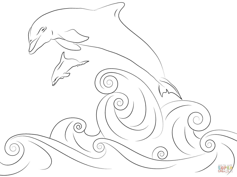 Klick das Bild Delfine springen aus dem Wasser