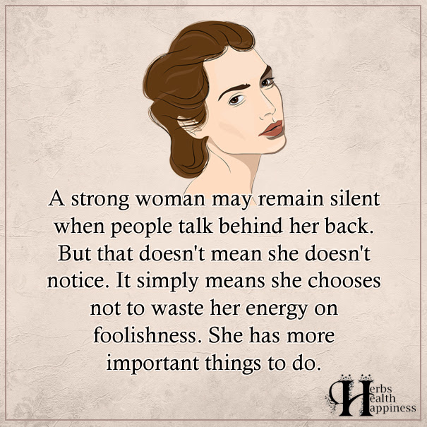 A Strong Woman May Remain Silent ø Eminently Quotable Quotes