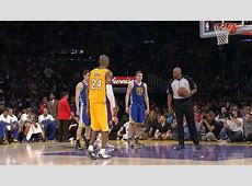 Kobe Bryant Makes Two Free Throws With Torn Achilles
