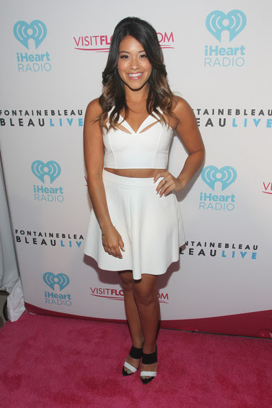 Gina Rodriguez - iHeartRadio Ultimate Pool Party Presented By VISIT FLORIDA At Fontainebleau's BleauLive - Offstage - Day 2