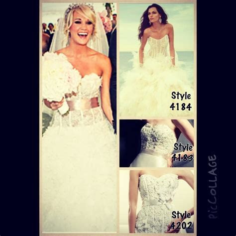 Loved Carrie Underwood Wedding Dress?!!! If so, here are