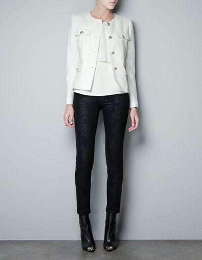 Zara Blazer with Golden Buttons