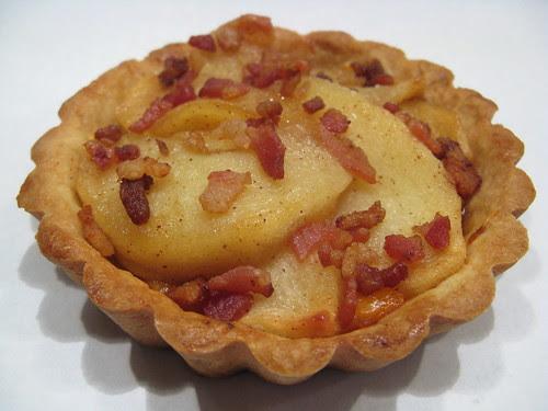 Cheddar, Apple & Bacon Tart