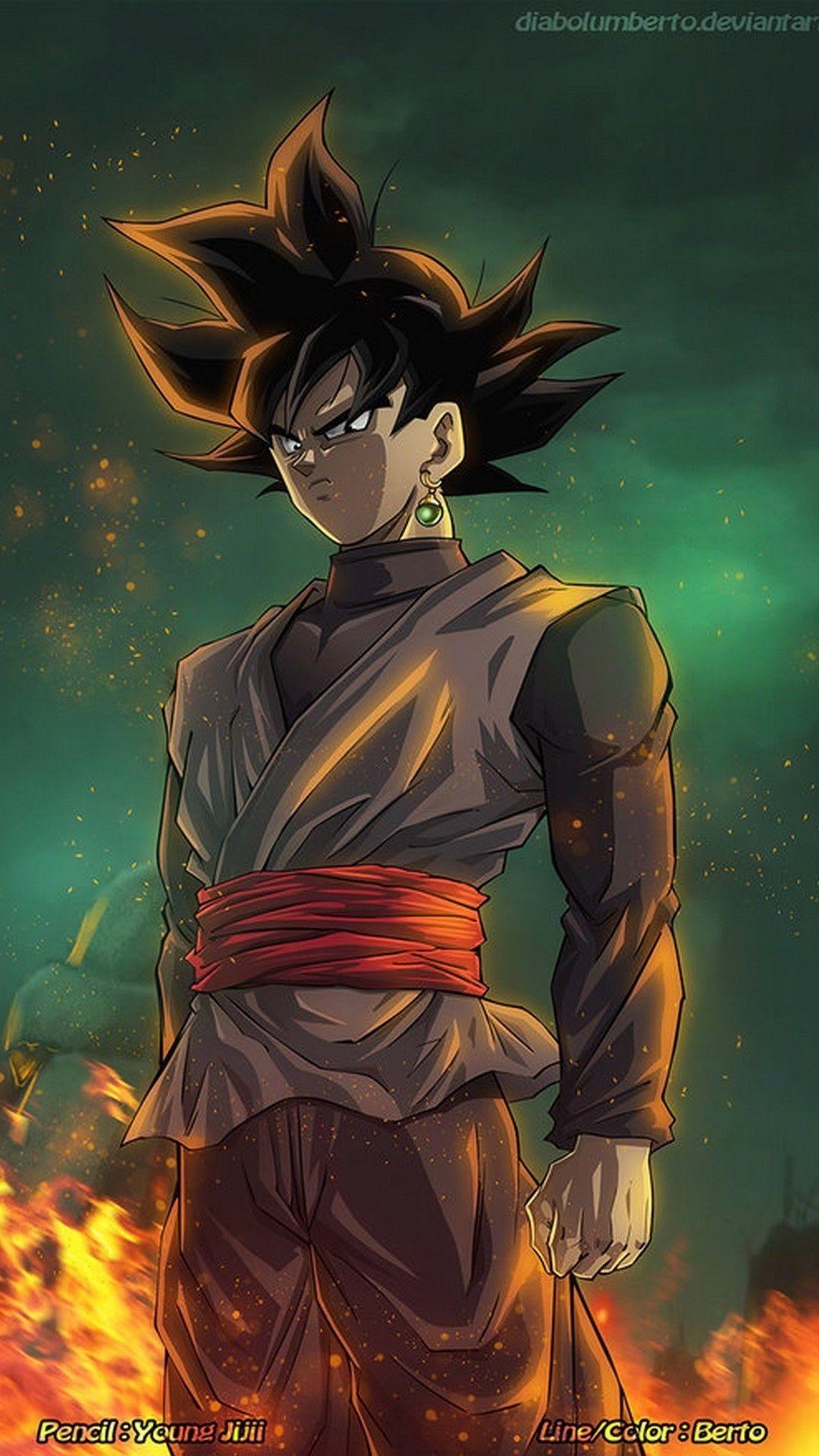 Goku Black Phone Wallpaper Hd Gambarku