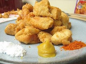Karaage is one of the Japanese deep fried food