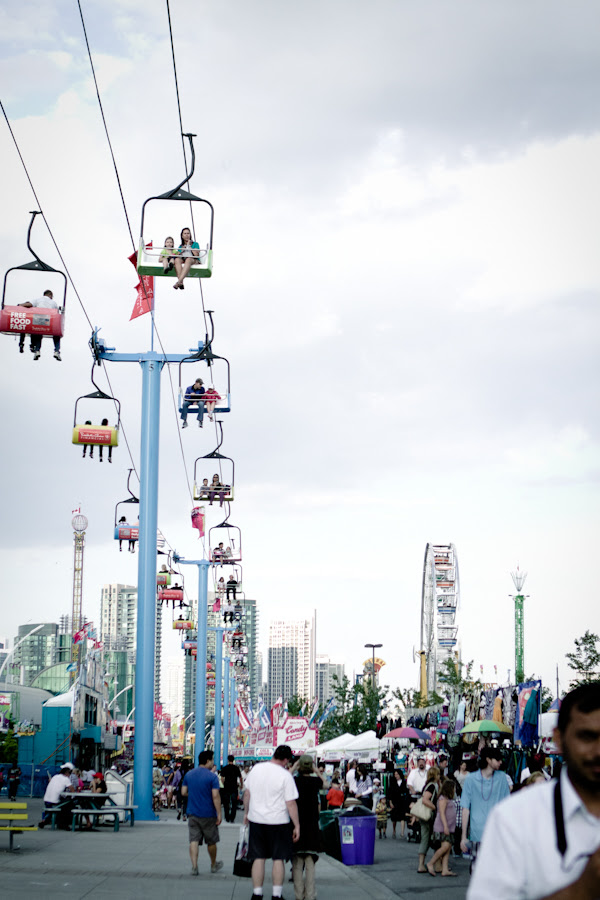 day time at CNE