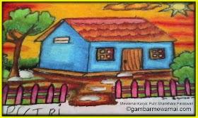 Sketsa Menggambar Rumah Yang Bagus Dan Mudah