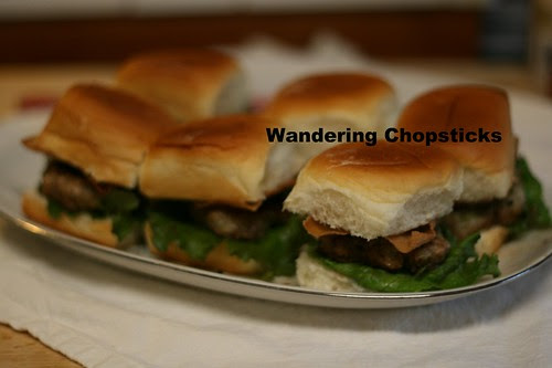 Nem Nuong (Vietnamese Grilled Pork Patty) Sliders 9