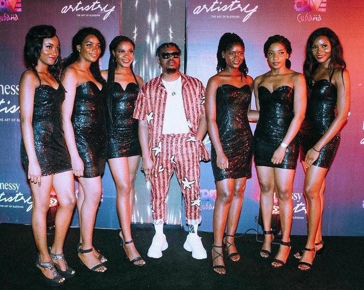 Photos Of Olamide With Beautiful Hot Ladies