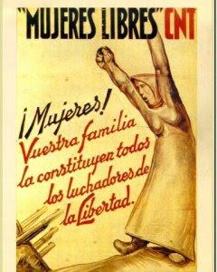 Cartel de Mujeres Libres