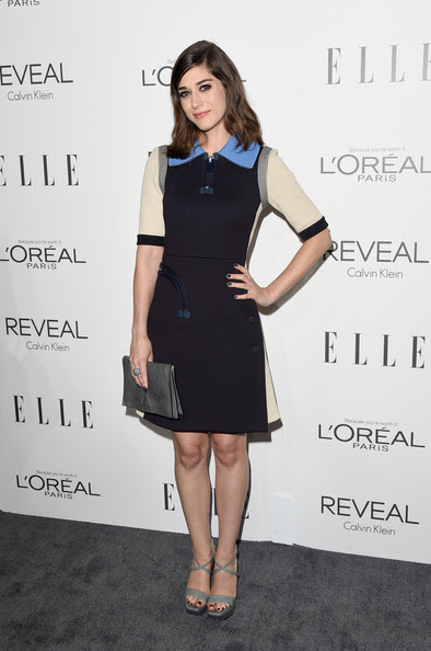 Actress Lizzy Caplan attends ELLE's 21st Annual Women in Hollywood Celebration at the Four Seasons Hotel on October 20, 2014 in Beverly Hills, California.