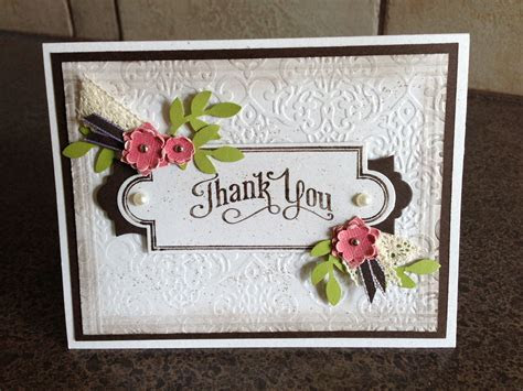 Wedding Thank You card for parents   Paper Kreations by