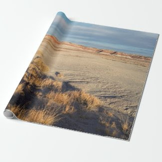 Desert Wave: Petrified Forest National Park Wrapping Paper