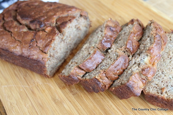 Applesauce Banana Cake by The Country Chic Cottage