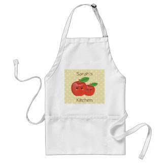 Sweet Apple design Apron apron