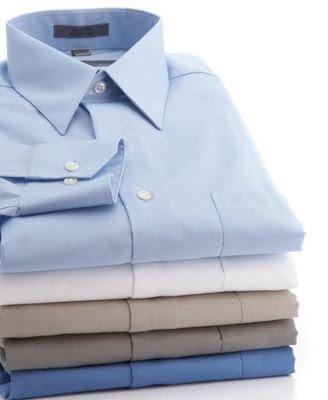 Basketweave Fine Cotton Dress Shirt