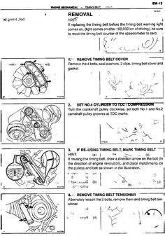 Service Manual for Toyota 1kz-te Turbo Diesel Engine | 1KZ