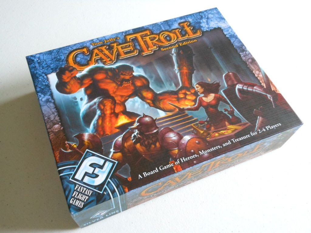 Cave Troll board game box