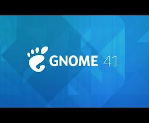 Rilasciato GNOME 41