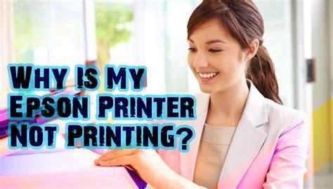 epson printer  printing top