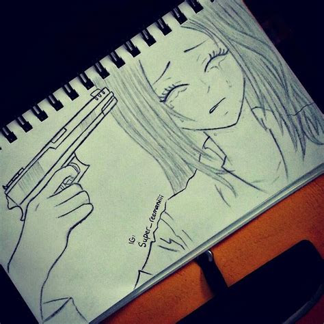 anime manga sadness drawings reem gun