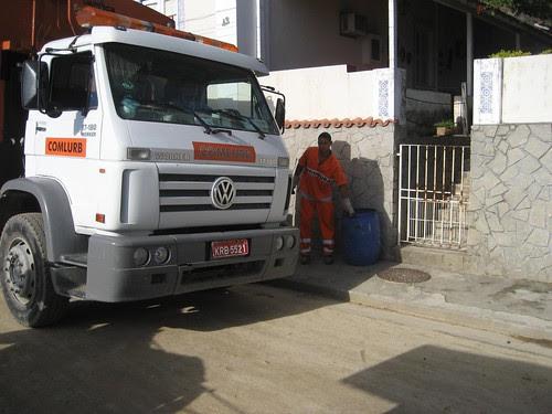 garbage truck Paqueta