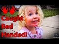 Cute Kid Caught Red Handed - Video