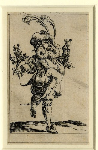 Set of twelve grotesque figures representing the twelve months of the year 1638 Denis Boutemie e