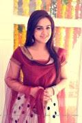 Telugu Actress Aksha looking Cute