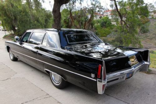 Sell used 1970 Cadillac Fleetwood limousine 1 of 875 built ...