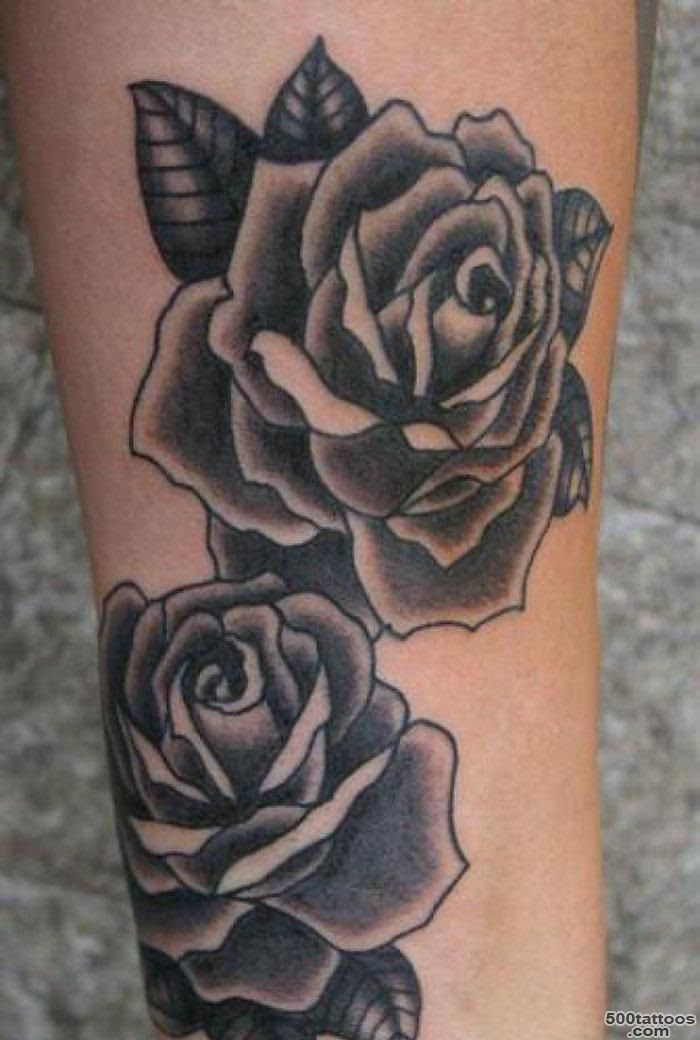 Black Rose Tattoo Photo Num 8400
