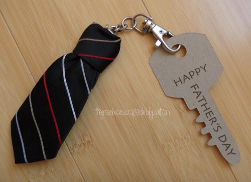 tie-ny key chain