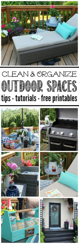 Outdoor Cleaning Tips - Clean & Scentsible - HMLP 87 - Feature