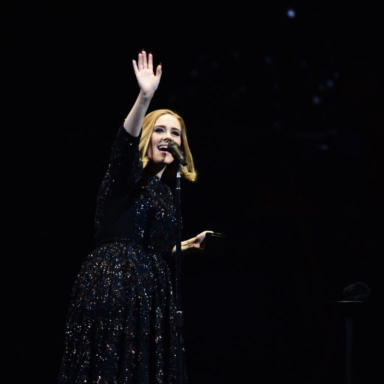 Adele had a beard when she was pregnant and she called it ...