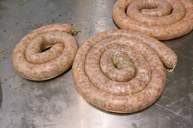 2013_11_12 Sausage Masterclass, Hudson Meats