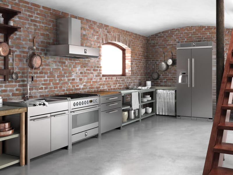 Awesome Mobili Cucina Acciaio Inox Gallery - Design & Ideas 2017 ...
