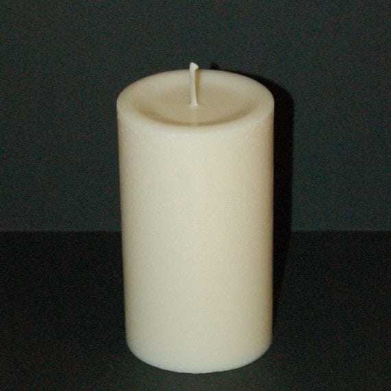 All Natural Soy Pillar Candle by waxworkscandles on Etsy