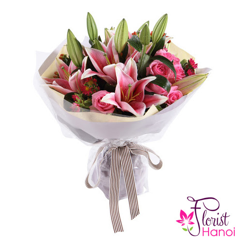 Lilies are the most popular flowers for birthday