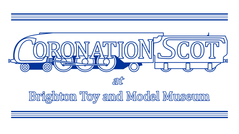 Coronation Scot at Brighton Toy and Model Museum