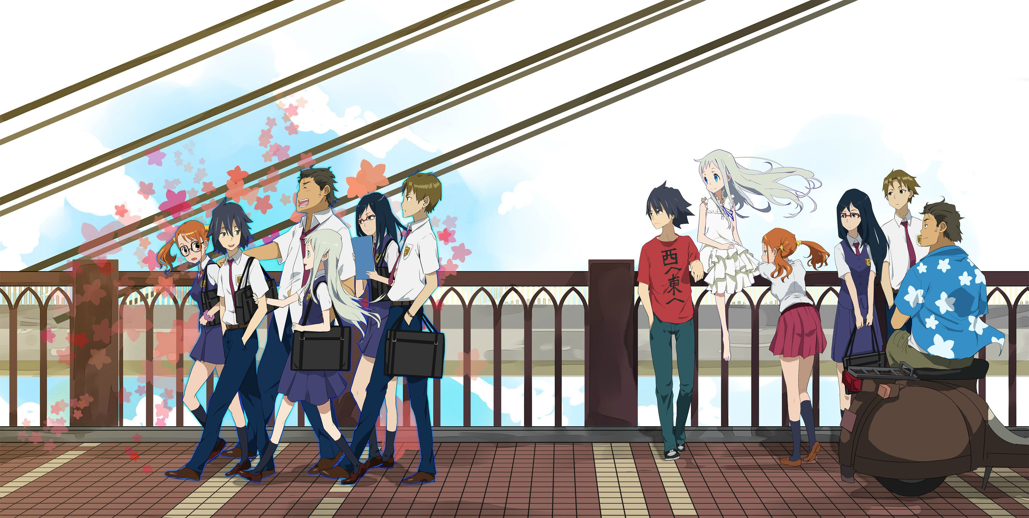 AnoHana Wallpaper HQ