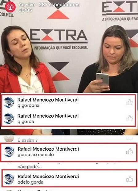 Repórter interrompe entrevista para desabafo
