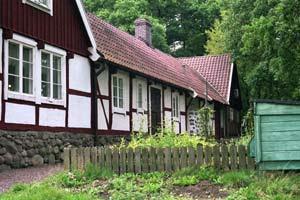 Lindesgården från baksidan