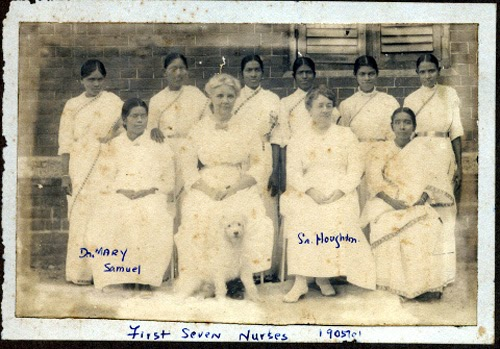 Image result for first indian nurses in vellore