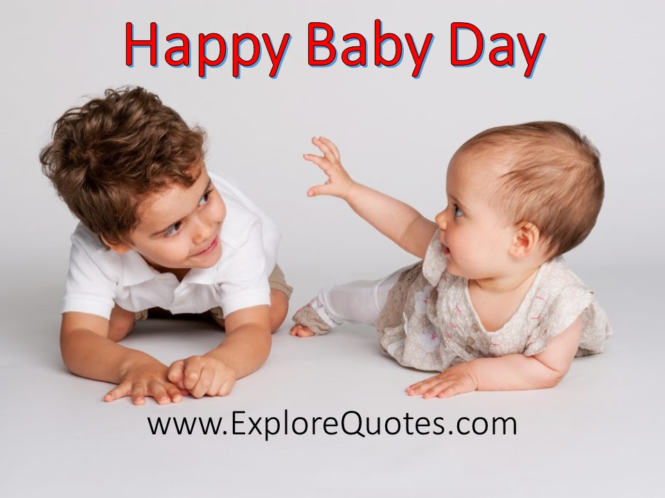 Baby Day Quotes Messages Greetings Wishes Sms Sayings 2019
