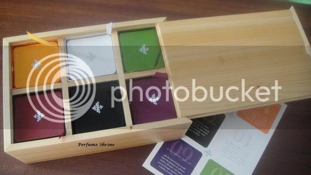 Le Cherche Midi candles box
