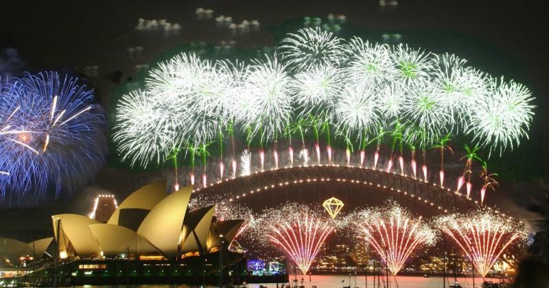 Resultado de imagem para ano novo 2017 na australia