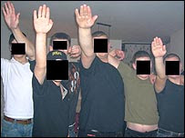 Alleged Nazi gang members