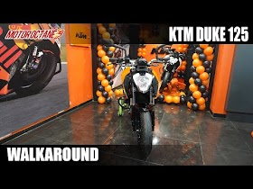 2021 KTM Duke 125 Walkaround - Expensive but worth it?